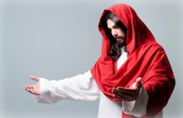 iStock Jesus open arms red head wrapping1 300x199 Spiritual