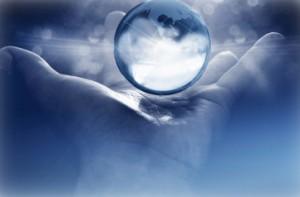 iStock hand holding earth creation1 300x197 Spiritual