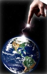 iStock hand of God forming earth1 192x300 Spiritual